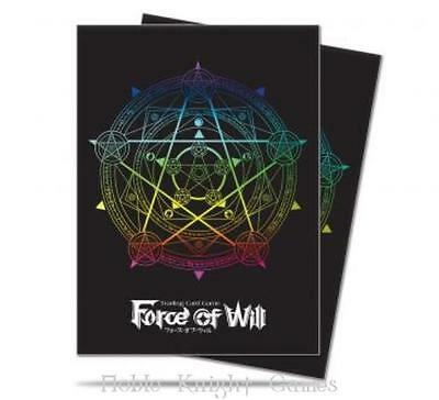 Ultra Pro  Force of Will Deck Bo Standard Card Sleeves - Magic Circle (65 MINT