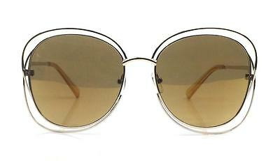 70's Vintage Retro Oversized Large Metal Wire Frame Womens Big Sunglasses Shades
