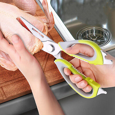 New Multi-purpose Powerful Kitchen Scissor With Magnetic Sheath Cooking Tool