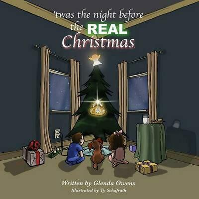 Twas the night before the REAL Christmas by Glenda Owens (English) Paperback Boo
