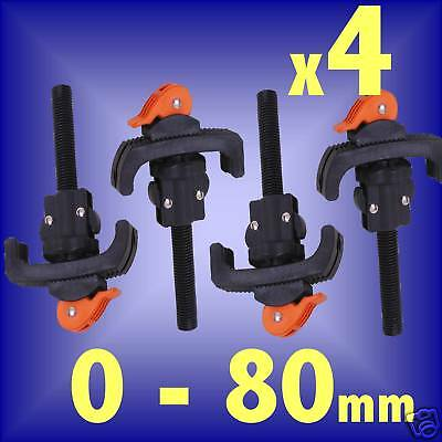 4 CLAMPS for workbench workmate vice woodworking bench