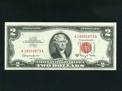 USA:FR-1513,2$ 1963 G,Red Seal * UNC *