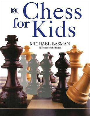 Chess for Kids by Michael Basman (English) Paperback Book Free Shipping!