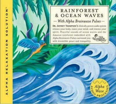 Rainforest and Ocean Waves by Jeffrey Thompson (English) Compact Disc Book Free