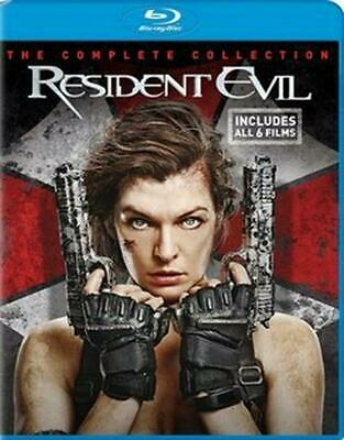 Resident Evil: the Final Chapter Collection - Blu-Ray Region 1 Free Shipping!