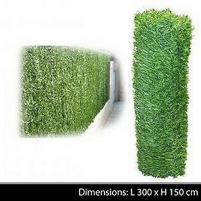 Haie Vegetale Jardin Cloture Brise Vue Grillage Herbe Artificielle Decoration 99