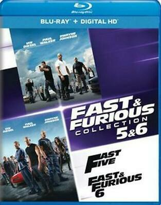 Fast & Furious Collection 5 & 6 - Blu-Ray Region 1 Free Shipping!