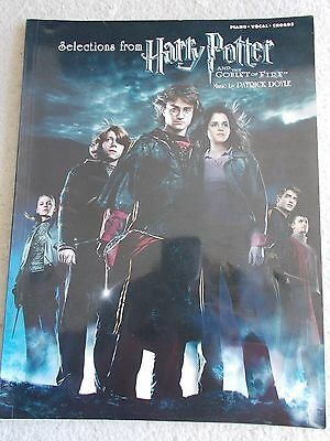 Selections Harry Potter Goblet Fire Voice Piano Guitar w/Photos