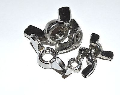 Metric Stainless Wing Nut M5 Package Of 10 Wing Nuts