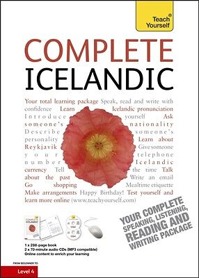 Complete Icelandic: Teach Yourself (Book/CD Pack) (Paperback), Jo. 9781444105377
