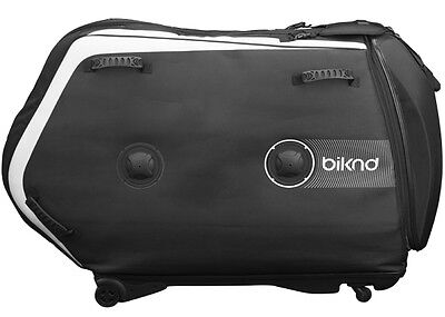 BIKND HELIUM V4 Air-Cushioned Bike/Bicycle Airplane Safe Travel Case - Black