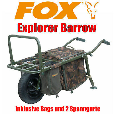 Fox Explorer Barrow inkl. Bag Straps Transport Wagen - CTR012 [P7] NEU