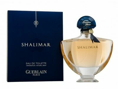 Guerlain Shalimar Eau De Toilette 90Ml Spray - Women's For Her. New