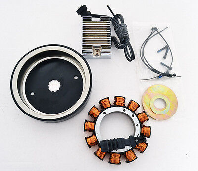 NEW ALTERNATOR CHARGING SYSTEM STOCK STYLE REPLACEMENT KIT 32amp HARLEY-DAVIDSON