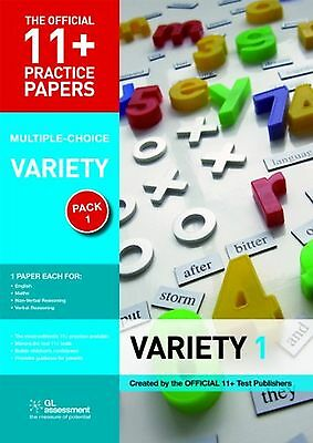 11+ Practice Papers Multiple-choice Variety Pack 1 (The Official 11+... NEW BOOK