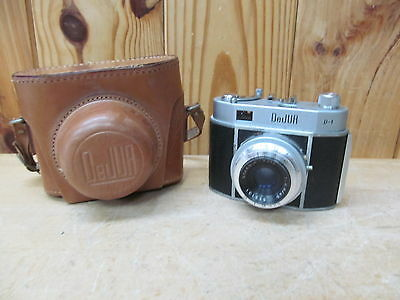 Dejur D-1 Vintage Film Camera and Case