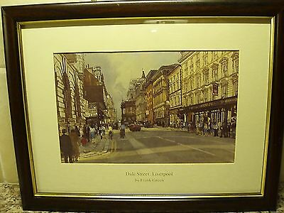 "A ""dale Street - Liverpool"" Mounted & Framed Card Print By ""frank Green"""