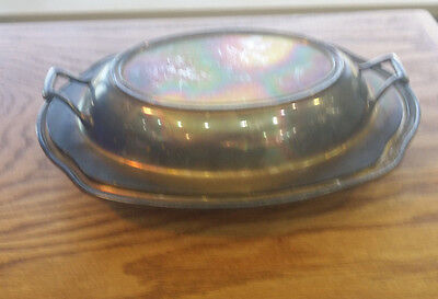 Silverplate Serving Dish  International Silver King George III