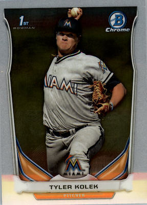2014 Bowman Chrome Draft Baseball Base Singles (Pick Your Cards)