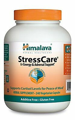 Stress Care for Energy & Adrenal Support Additive Gluten Free 240 Vegetarian cap