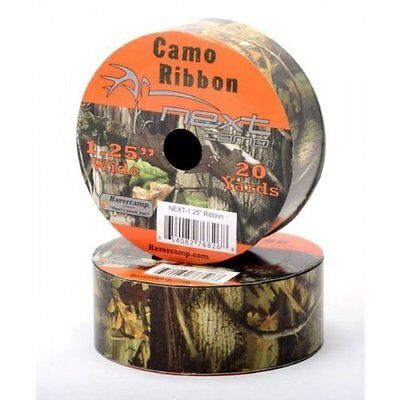 Wide next Mossy Oak Camo Ribbon Great for Outdoor by Havercamp - 20 Yard Roll