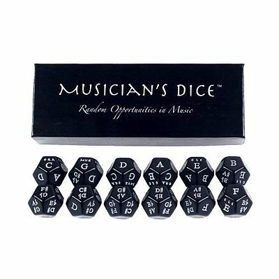 12 Sided Musician's Dice Great for Composition Improvisation and Study