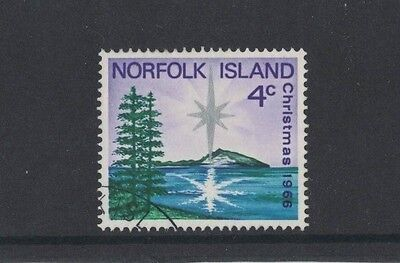 1966 Norfolk Island Christmas SG 76 fine used