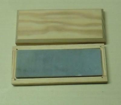 "Translucent Hard Arkansas Whetstone,Natural Oilstone, 6 X 2 X 1/2"" in Custom Box"