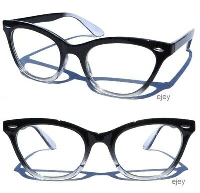 Gradient Frame Clear lens Glasses Sexy Retro Hipster Classic Retro Style