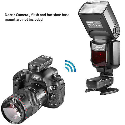 Neewer 2.4G Wireless Remote Flash Trigger Transceiver Pair for Canon DSLR Camera