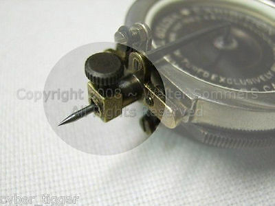Exhibition Phonograph Reproducer Needle Thumbscrew