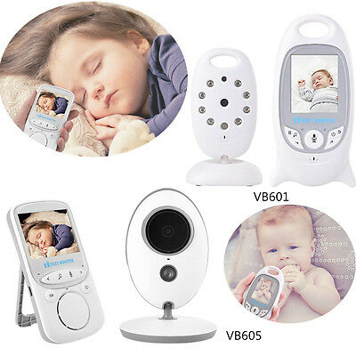 Neu Baby Video Audio Monitor drahtlos Babyphone mit Kamera Babyviewer Nachtsicht