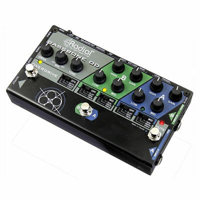 RADIAL Bassbone OD 2-Channel Bass Preamp Pedal -