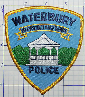 Vermont, Waterbury Police Dept Patch