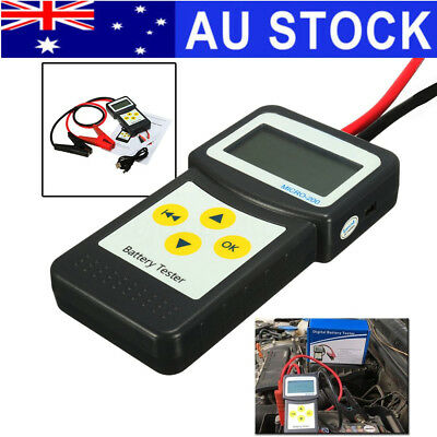 AU Car Battery Load Tester Analyzer Flooded Digital Diagnostic AGM GEL Micro-200