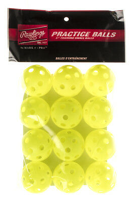 "Rawlings 5"" Plastic Small Balls (optic 12 pk)"