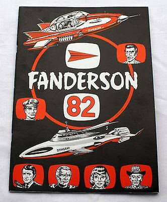 Thunderbirds Fanderson 82 Magazine - Gerry Anderson convention