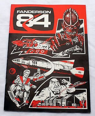 Thunderbirds Fanderson 84 Magazine - Gerry Anderson convention