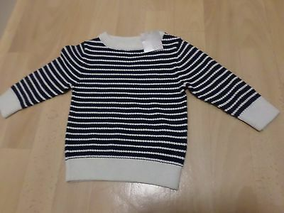 Baby Boys Cotton Jumper From Next (6-9 Months) New