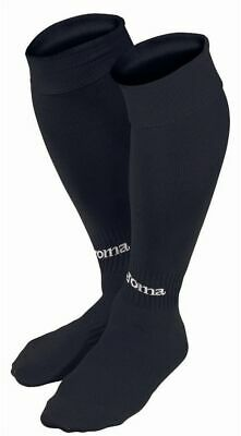 JOMA CLASSIC II FOOTBALL SOCKS - BLACK - various sizes