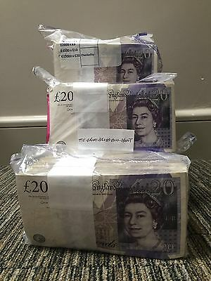 One Single VGC £20 Note Random Serial Number Andrew Bailey Trusted Seller