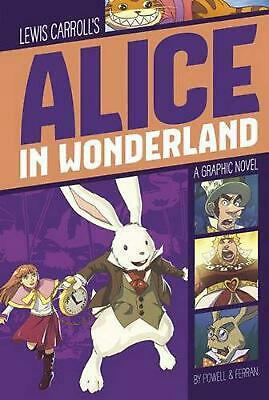 Alice in Wonderland by Lewis Carroll (English) Paperback Book Free Shipping!