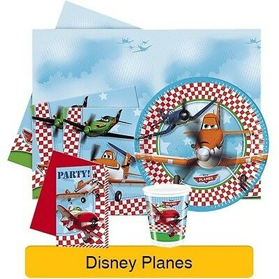 DISNEY PLANES Birthday PARTY RANGE (Partyware/Celebration/Decoration) Boys/Cars2