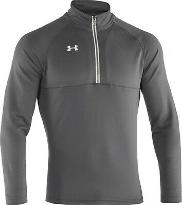 Under Armour Team Scout II 1/4 Zip - Graphite - Small 1236923-040-S