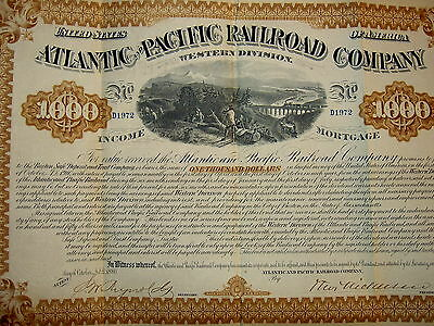 Atlantic & Pacific Railroad Co.1880
