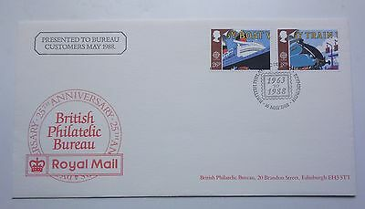 Great Britain Cover 25Th Anniversary British Philatelic Bureau 1988