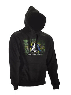 Ju-Sports BJJ Hoodie Ground Warrior schwarz