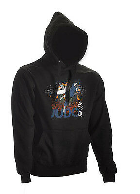Ju-Sports Judo Hoodie All-Japan schwarz