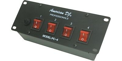 American DJ PC-4 4 Channel Switch Center