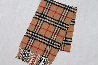 Vintage Burberry Check Wool & Cashmere Scarf,burberrys London Nova Check Scarf